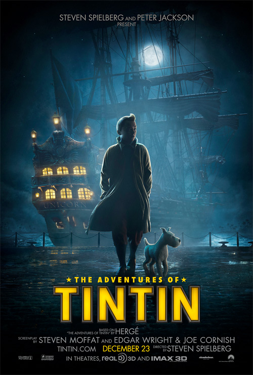 The Adventures of Tintin Poster #2