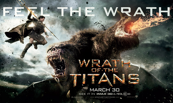 Wrath of the Titans Banner