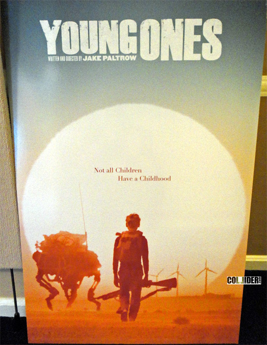 Jake Paltrow's Young Ones Sales Art