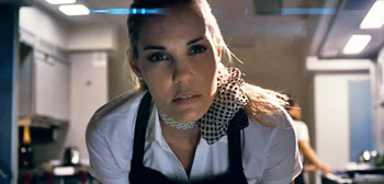 Leslie Bibb in 7500 Teaser Trailer