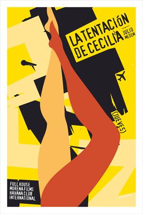 7 Days in Havana Poster - La Tentacion de Cecilia