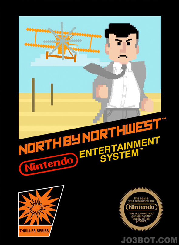 8-Bit Hitchcock - North by Northwest