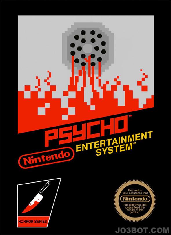 8-Bit Hitchcock - Psycho