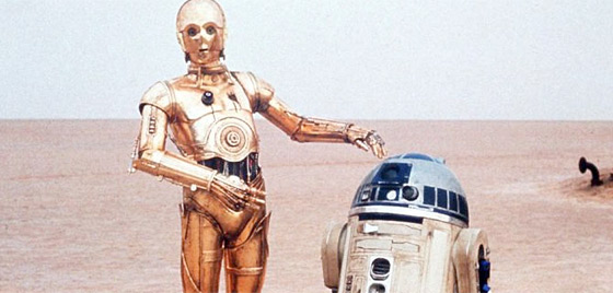 R2 & C3PO from Star Wars