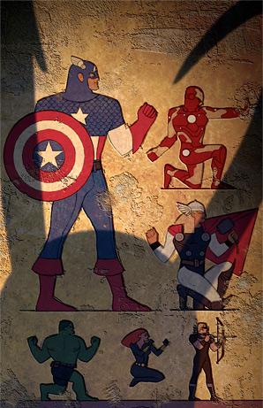 Avengers Poster Fan Art