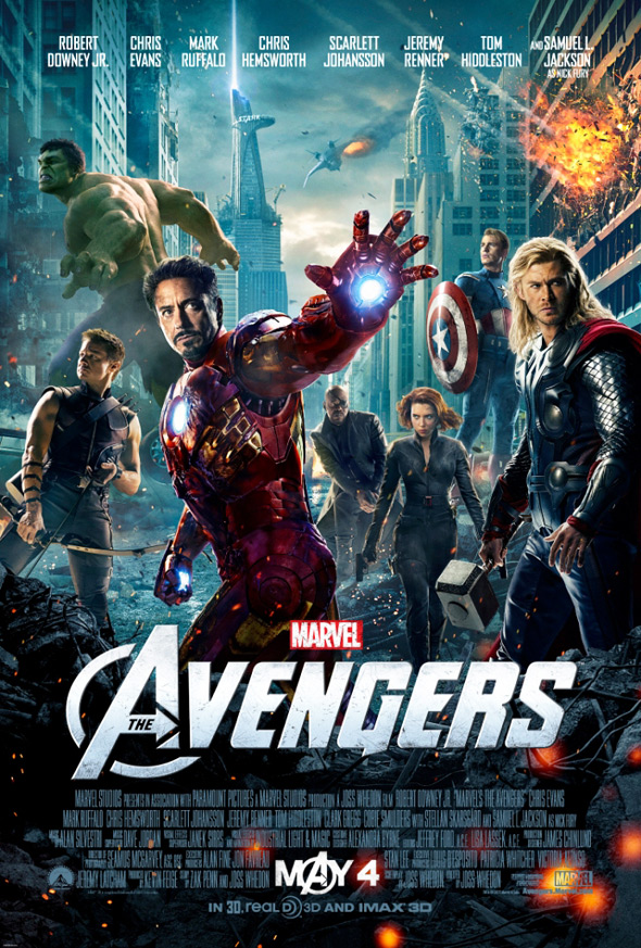The Avengers - Theatrical Poster