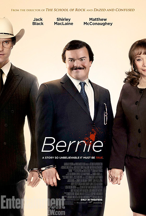 Richard Linklater's Bernie Official Poster