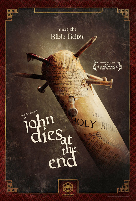 Bible Belter - John Dies at the End Poster