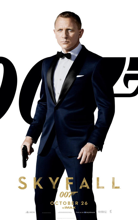 Skyfall James Bond Banner