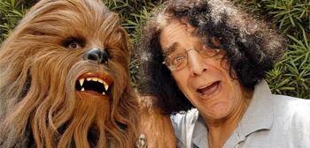 Peter Mayhew as Chewie