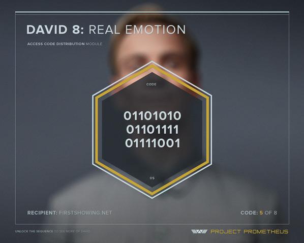 David 8: Real Emotion