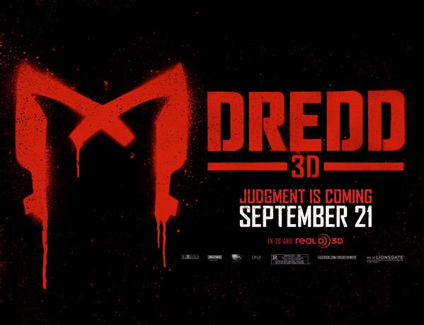 Dredd 3D Banner