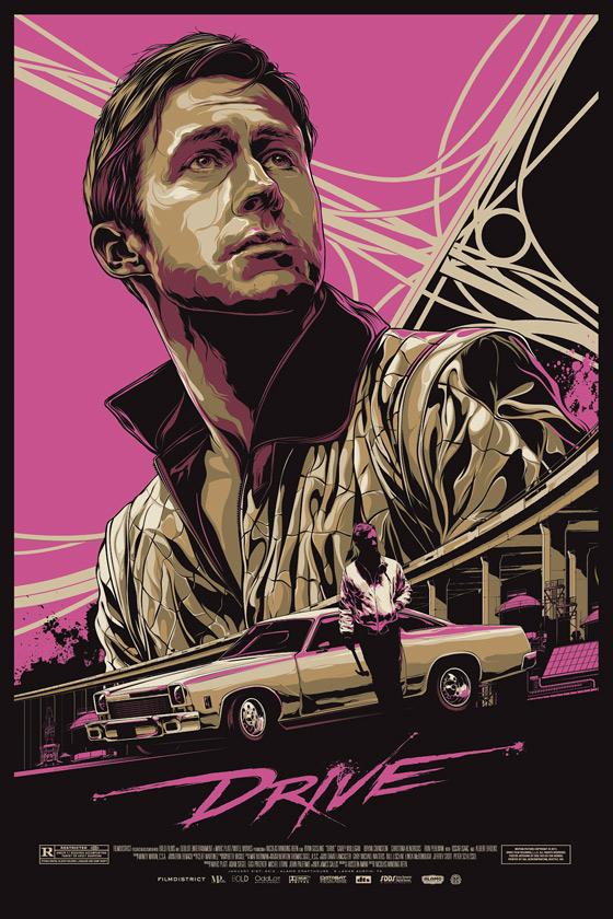 Drive Poster - Mondo - Ken Taylor