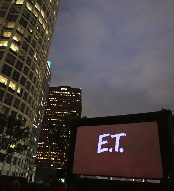 LA Film Fest E.T. Screening