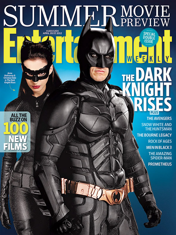 The Dark Knight Rises Entertainment Weekly