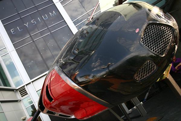 Elysium Bugatti Vehicle Comic-Con 2012