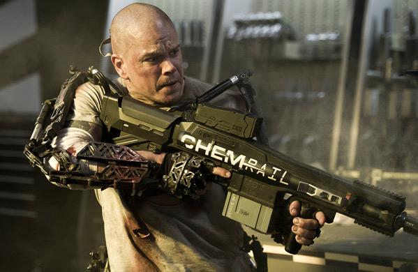 Matt Damon in Neill Blomkamp's Elysium