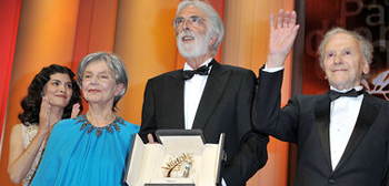 Cannes Palme d'Or Winner Michael Haneke