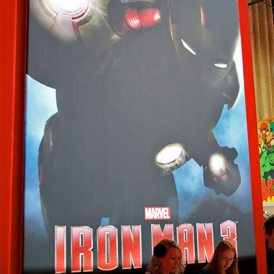Iron Man 3 Poster Booth