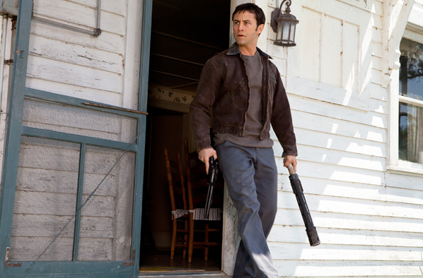 Joseph Gordon-Levitt in Rian Johnson's Looper