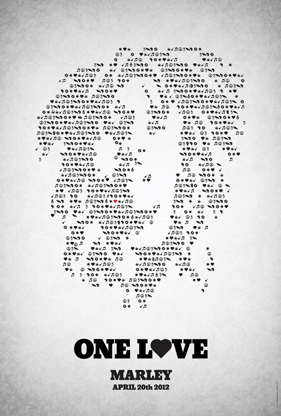 Bob Marley Doc Poster - One Love