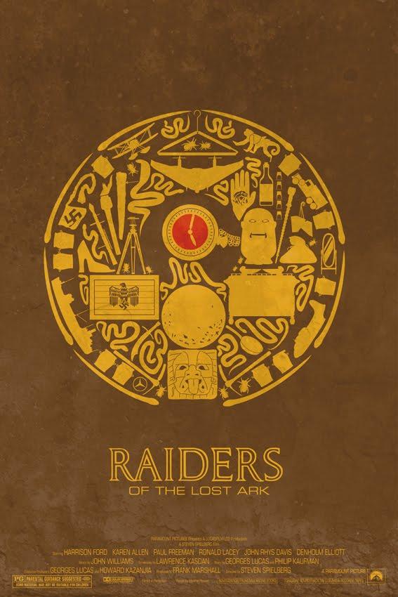 Raiders of the Lost Ark - Maxime Pecourt Poster