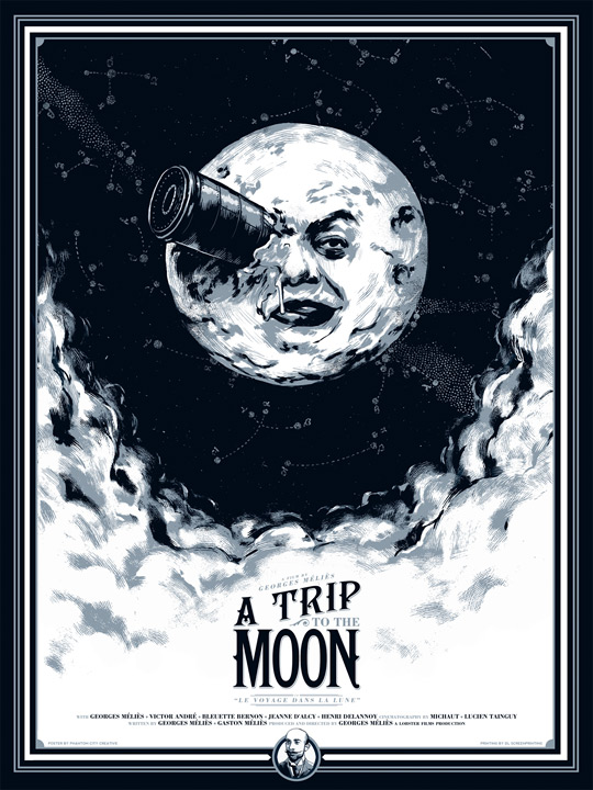 A Trip to the Moon by Phantom City Creative