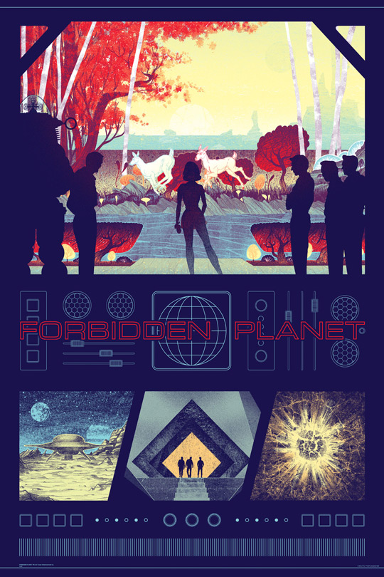 Forbidden Planet by Kevin Tong