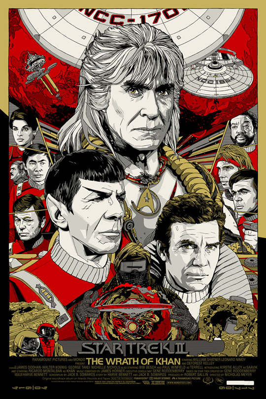 Star Trek II: The Wrath of Khan by Tyler Stout