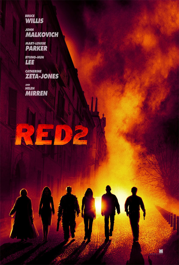 RED 2 - Teaser Poster