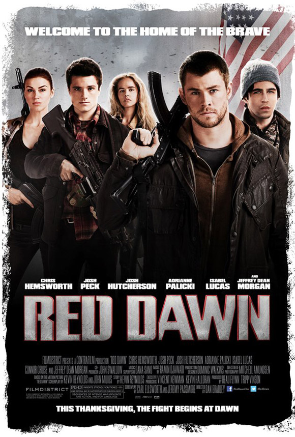 Red Dawn 2012 Poster