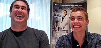 Rob Riggle and Dave Franco