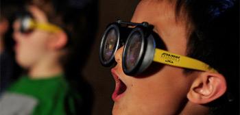 Star Wars Phantom Menace 3D Glasses