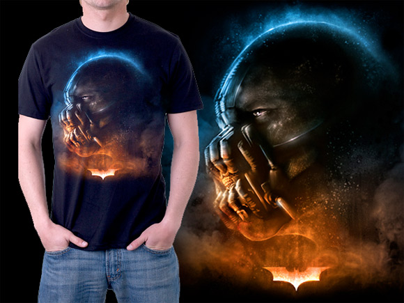 The Dark Knight Rises T-Shirt Design