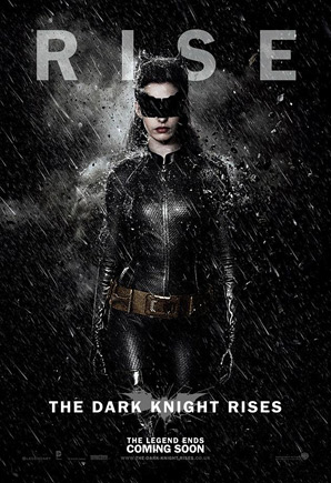 The Dark Knight Rises Poster - Catwoman