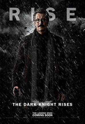 The Dark Knight Rises Poster - Jim Gordon