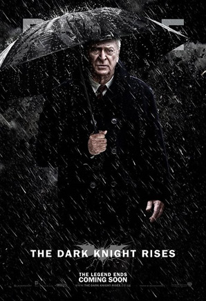 The Dark Knight Rises Poster - Alfred