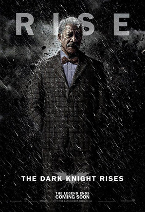 The Dark Knight Rises Poster - Lucius Fox