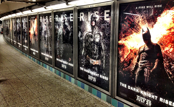 The Dark Knight Rises NYC