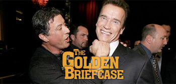 The Golden Briefcase - Stallone & Schwarzenegger