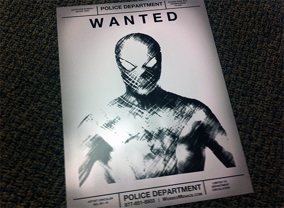 Wanted: Spider-Man