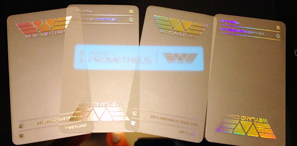 Weyland Corp WonderCon Card