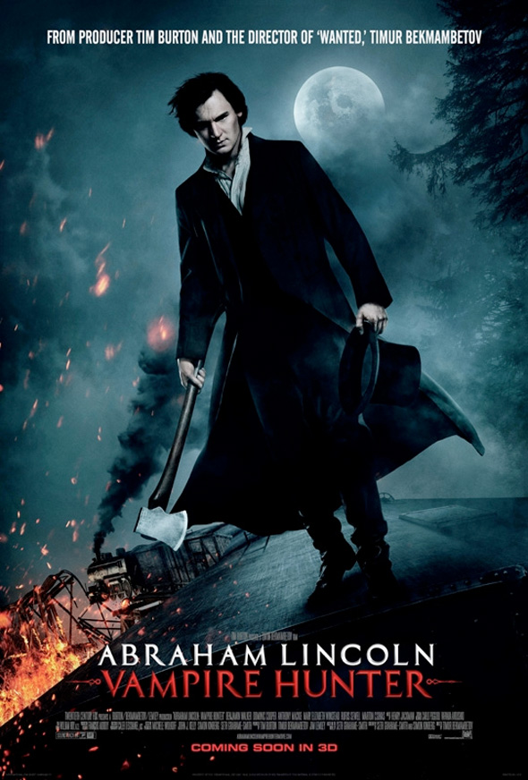 Abraham Lincoln: Vampire Hunter - International Poster