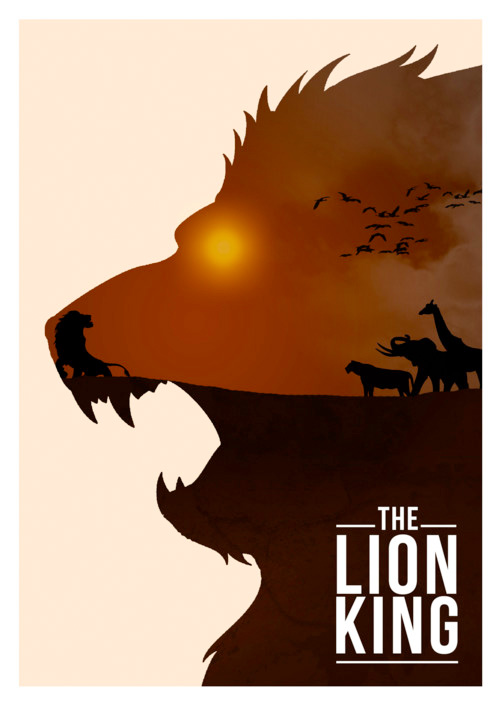 Alternative Disney Poster - The Lion King