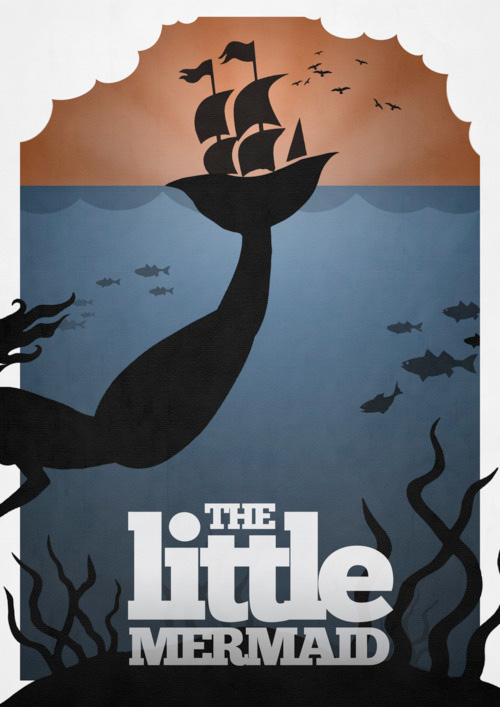 Alternative Disney Poster - The Little Mermaid