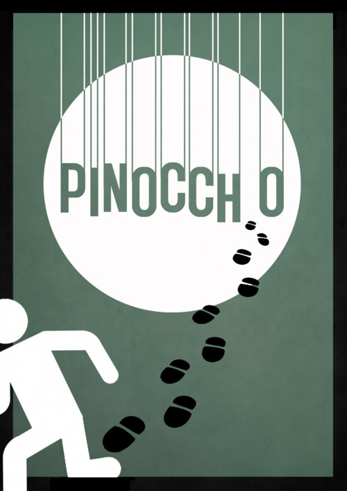 Alternative Disney Poster - Pinocchio