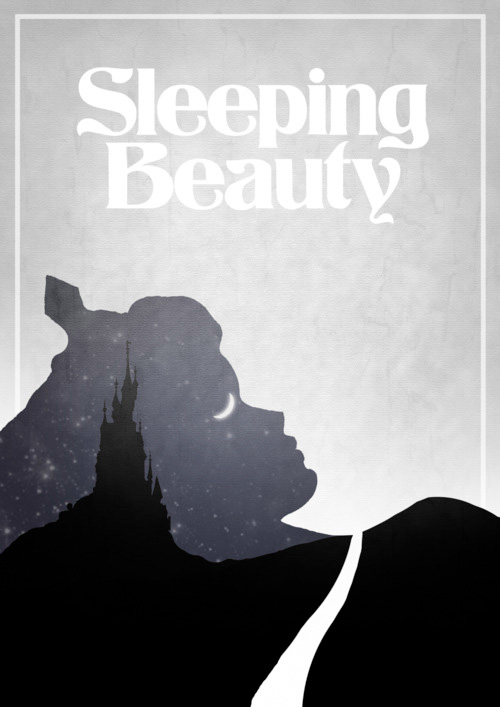 Alternative Disney Poster - Sleeping Beauty