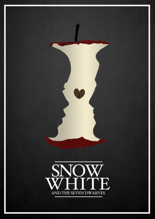 Alternative Disney Poster - Snow White and the Seven Dwarves