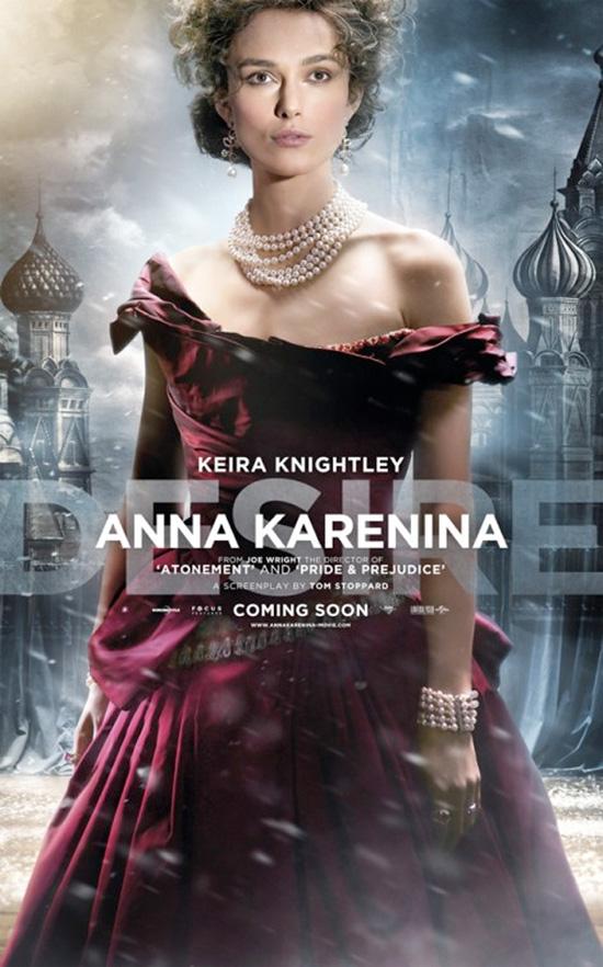 Anna Karenina - Character Poster - Keira Knightley
