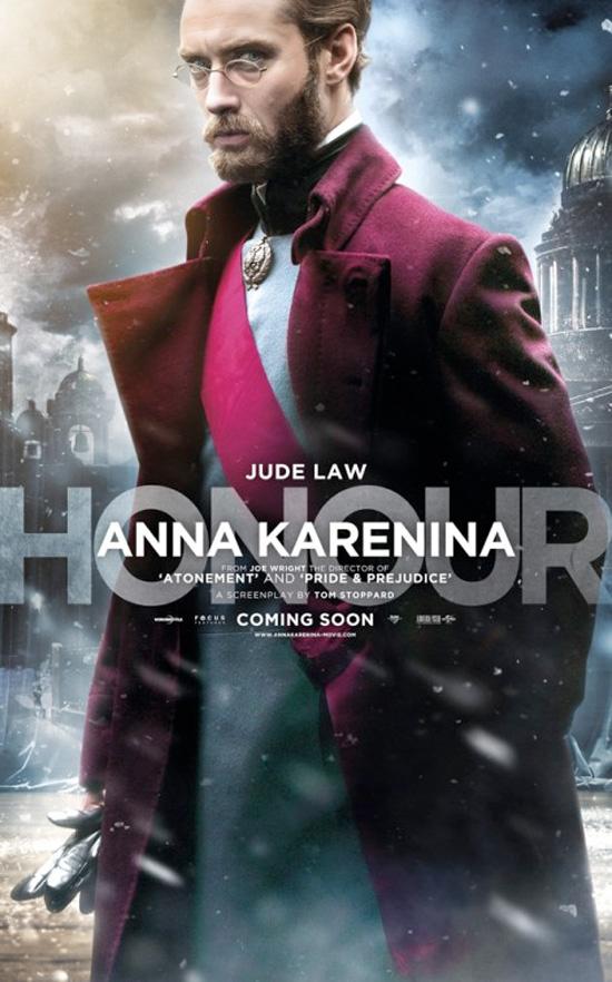 Anna Karenina - Character Poster - Jude Law